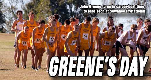 Greene sets personal best, leads Golden Eagles to fifth-place finish at Sewanee Invitational