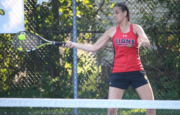 Women's Tennis Starts GNAC Slate with 7-2 Victory at Regis