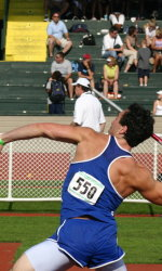 Mann Qualifies for Finals in Javelin Bombing it 210 feet