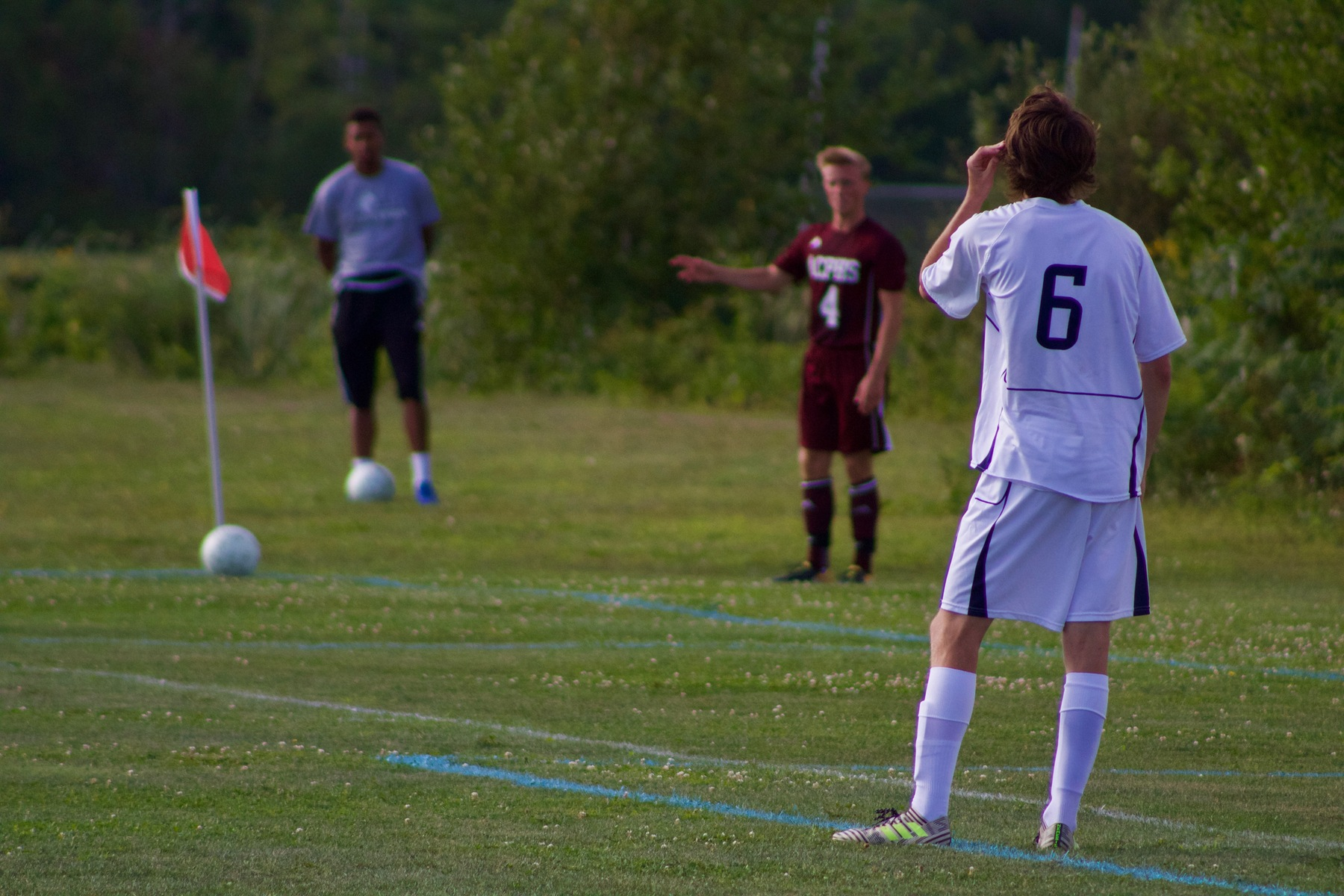 Men's Soccer Keeps Pace With Third YSCC Victory