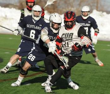Catholic University Defeats Scottish National Lacrosse Team