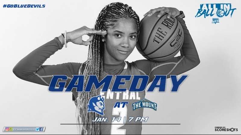 Women's Basketball Challenges Mount St. Mary's Monday