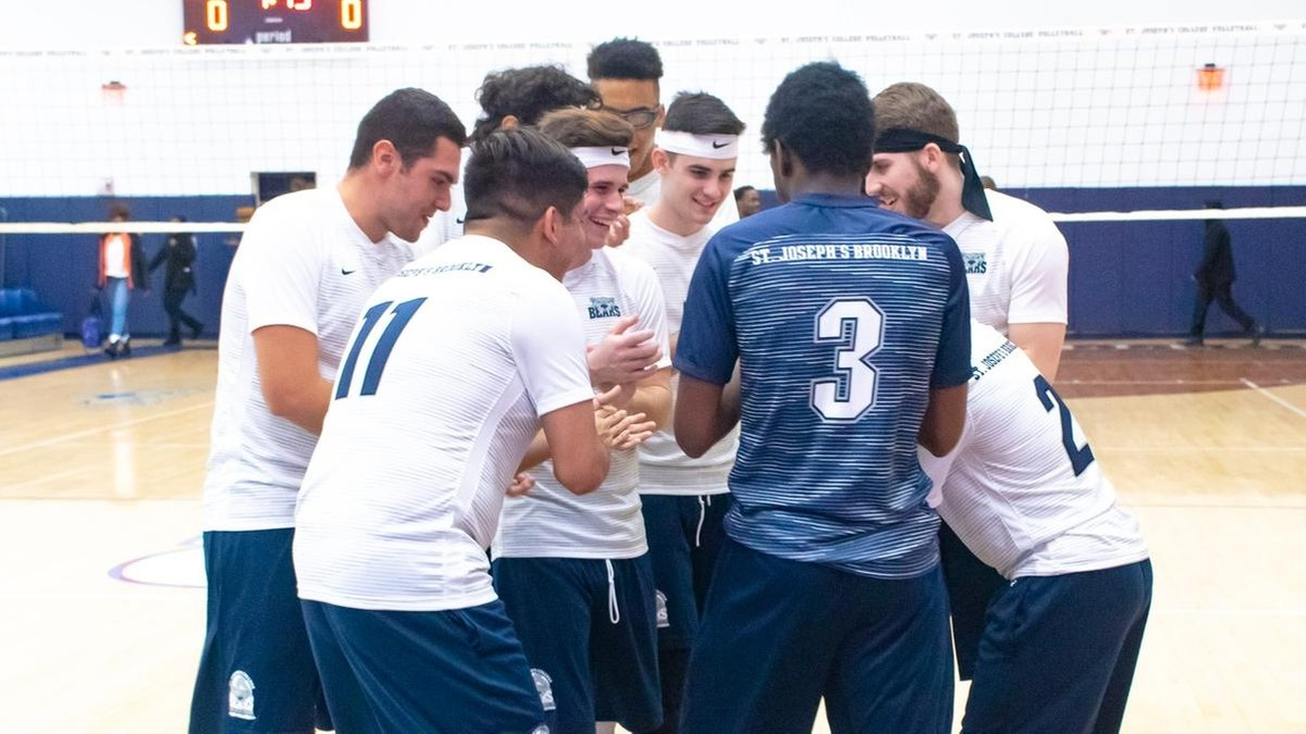 Men's Volleyball Sweeps Sarah Lawrence to Clinch First Skyline Championship Berth