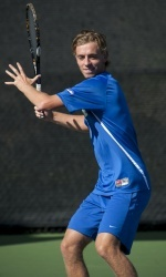 Men's Tennis Falls Short Against No. 7 Florida
