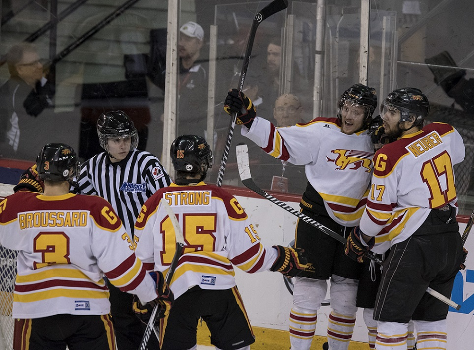 BRONZE CIS men's hockey University Cup: Gryphons skate to CIS University Cup bronze with OT win