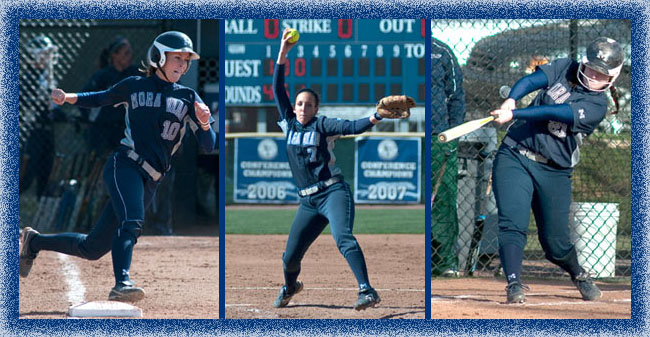 Three Softball Players are Ranked in the Latest NCAA DIII Stats