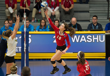 Washington University Punches Ticket to 15th NCAA Division IIII Volleyball Championship Match