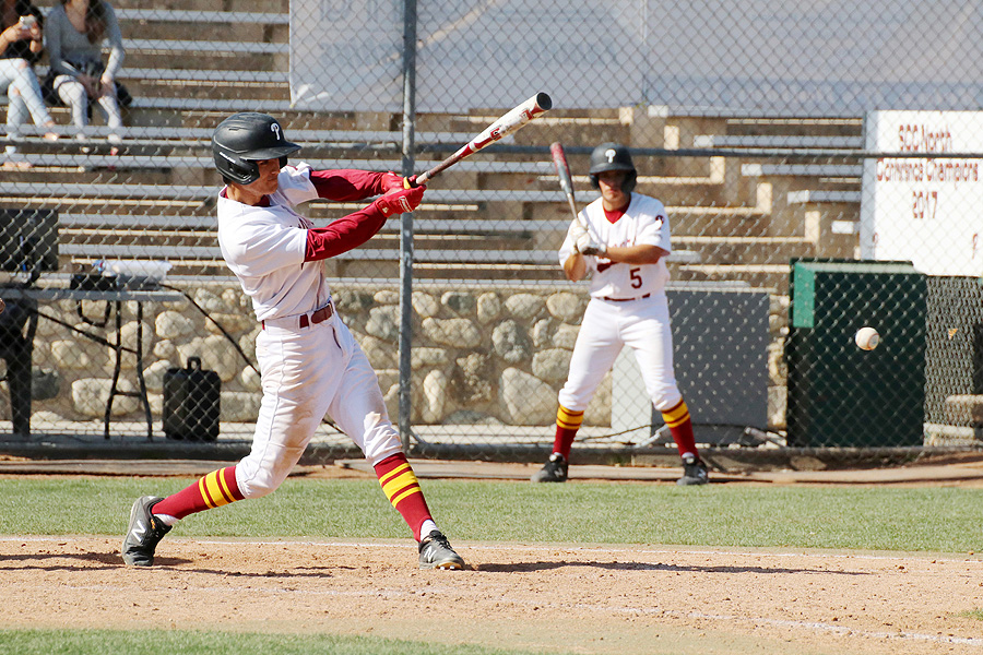Shane Ogata has the distinction of playing on both the 2017 and 2019 South Coast Conference champion Lancers baseball teams.