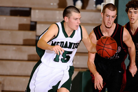 Guilford comes from behind to down McDaniel, 68-62