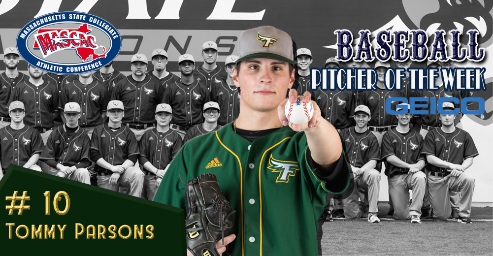 Parsons Tabbed MASCAC Baseball Pitcher Of The Week