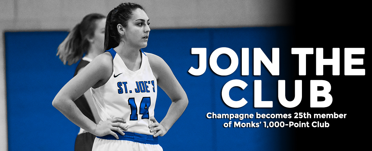 Champagne Joins 1,000-Point Club
