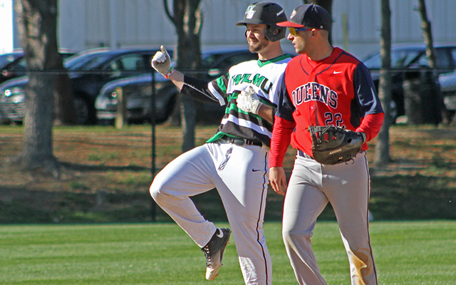 Clutch Two-Out Hits Send Wilmington Baseball to CACC Sweep, 8-3 and 4-3, Over Felician