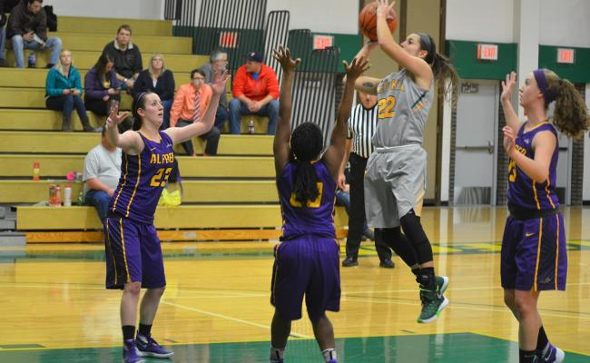 Women's Basketball Earns First Win of the Season