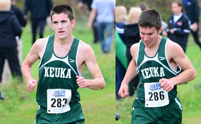 Men's Cross Country 7th at NEAC's