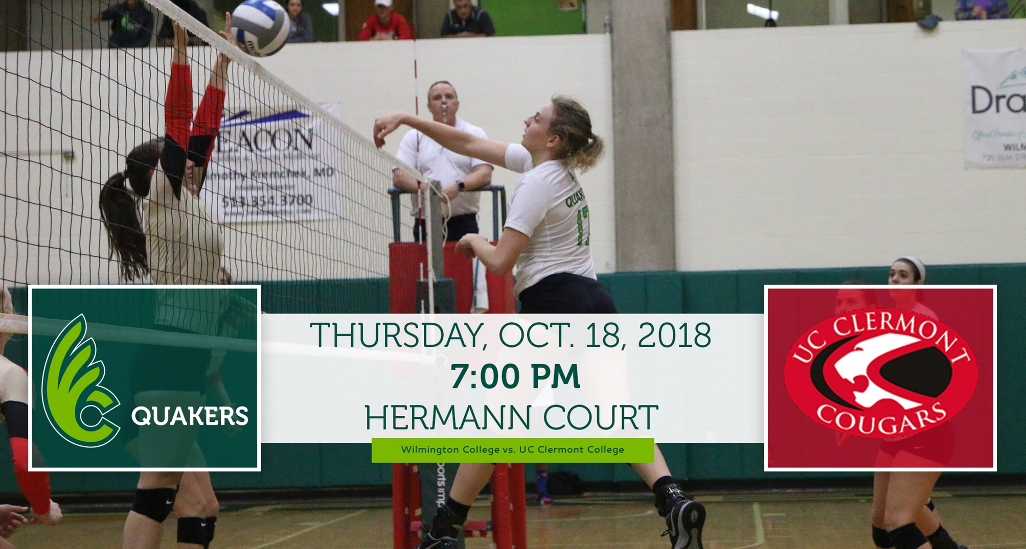 Volleyball Hosts UC Clermont in Final Non-Conference Game Thursday