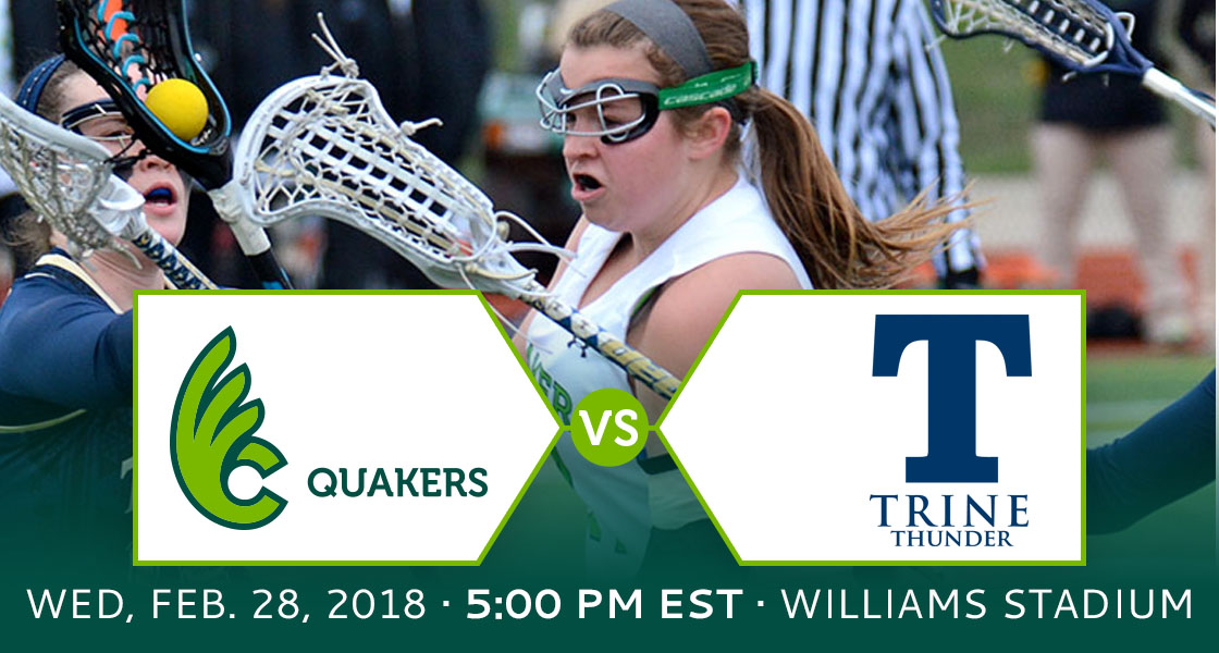 Women's Lacrosse Home Opener Wednesday against Trine