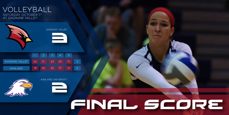 Cardinals start, finish strong in five-set victory over Ashland