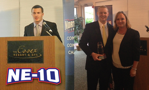 Assumption's Bates, Le Moyne's Wiese Receive 2014 Northeast-10 Man of the Year Award