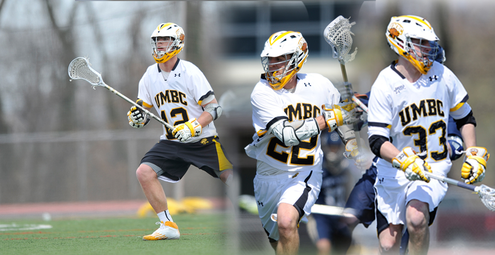 Men's Lacrosse Tabs Gregoire, Poe and McDonough as 2014 Team Captains