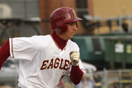Mason Powers Eagles Past Thomas More, 8-4