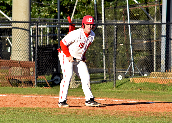 Heath Haskins had two doubles, three RBIs and a run in Sunday's 7-0 win over Brevard.