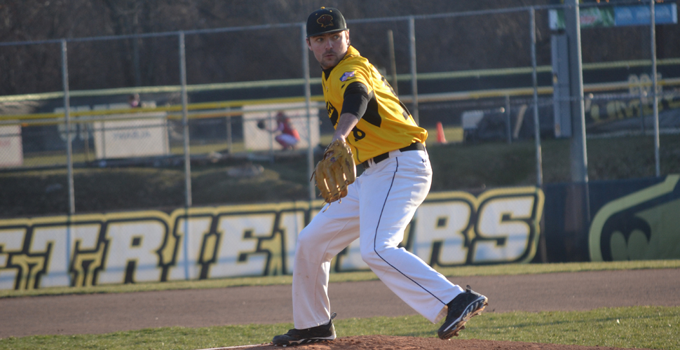 Gill Throws Complete Game to Give UMBC Doubleheader Split with Maine
