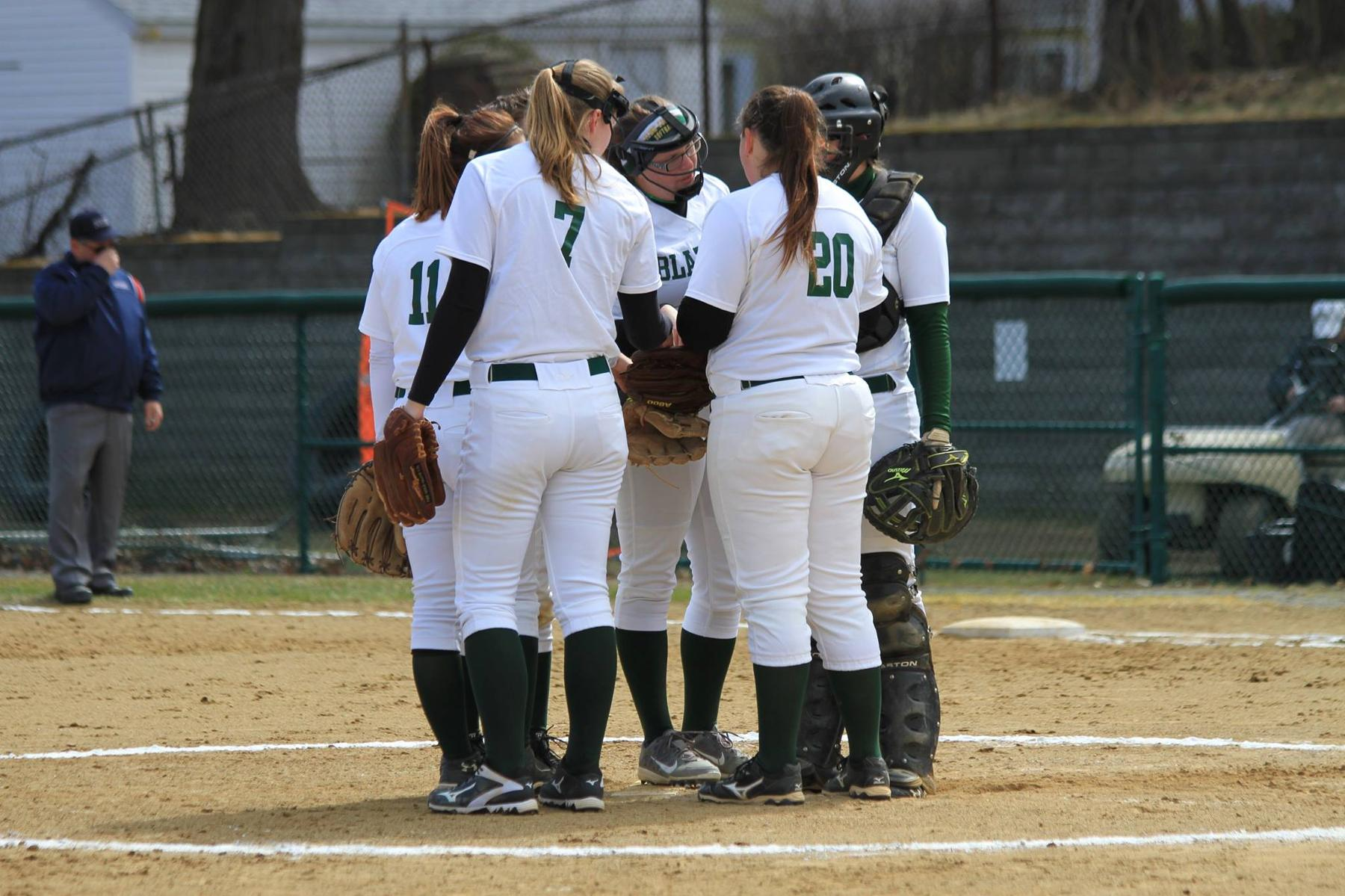 St. Joseph's Slugs Past Softball