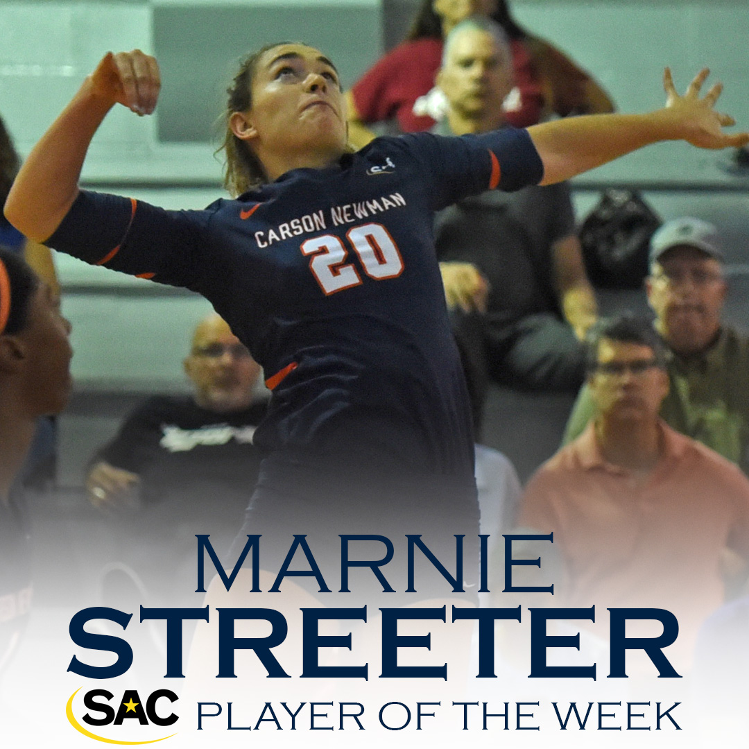 Streeter selected as SAC Player of the Week