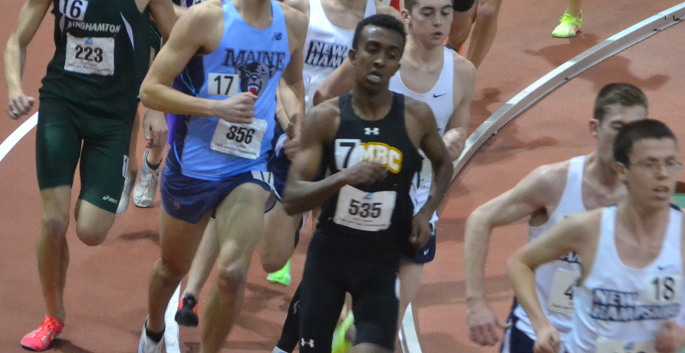 Albino, Mezebish, and Omar Improve School Records at ECAC/IC4A Championships