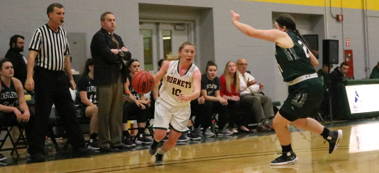 Hornet women falter late in non-conference loss to Castleton