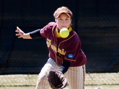 Rachel Wade and the Bulldogs selected fourth in the 2010 GLIAC Softball Coaches' Preseason Poll.  (Photo by Ed Hyde)