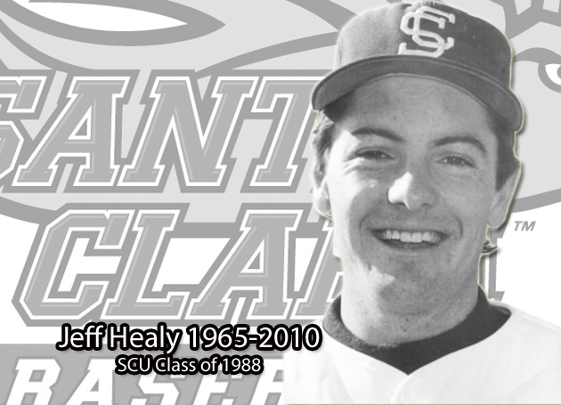 Santa Clara Baseball Loses One of its Own: Jeff Healy '88