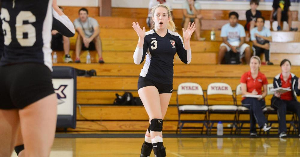 Volleyball drops road match to Caldwell, 0-3