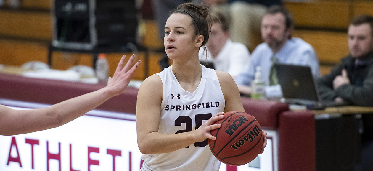 Strong Bench Play Leads Women's Basketball Past Wellesley, 53-38