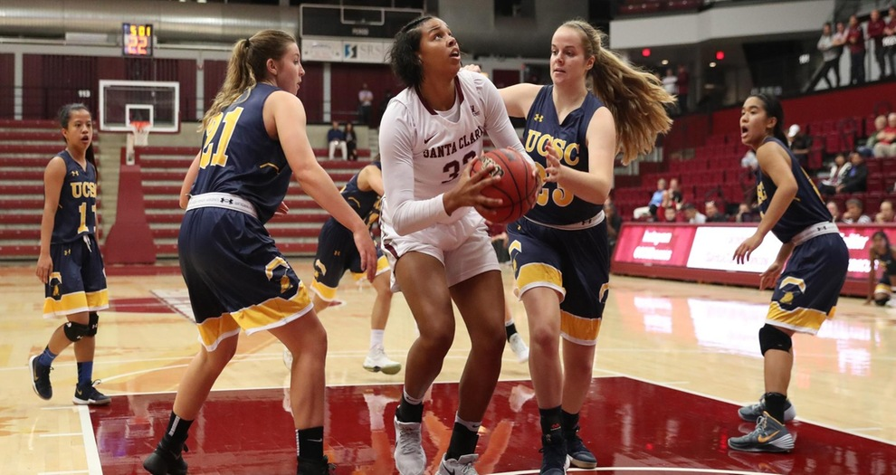 Women's Basketball Rolls by UC Santa Cruz in Exhibition