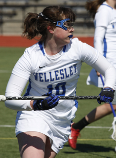Wellesley Lacrosse Falls to Drew, 18-15