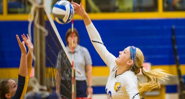 Volleyball Blanks Coast Guard to Start RWU Invite
