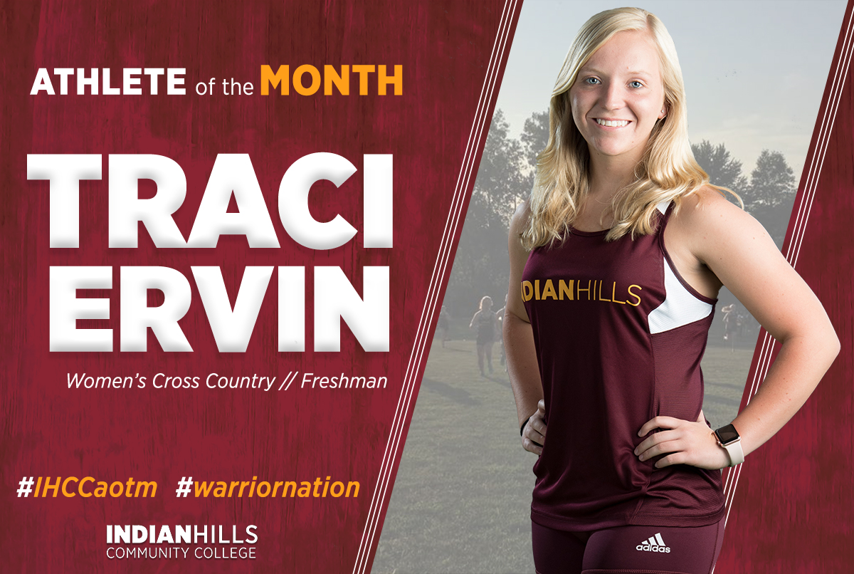 Traci Ervin - Athlete of the Month