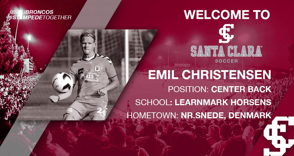 Meet the Future of Bronco Men's Soccer – Emil Christensen