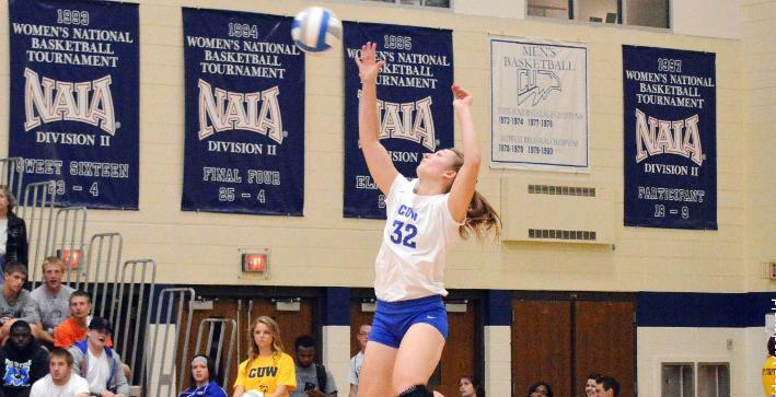 Griffiths earns All-NACC First Team Volleyball honors