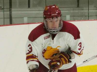 Junior defenseman Scott Wietecha and the Bulldogs are listed 36th in Inside College Hockey's 2009-10 power rankings.