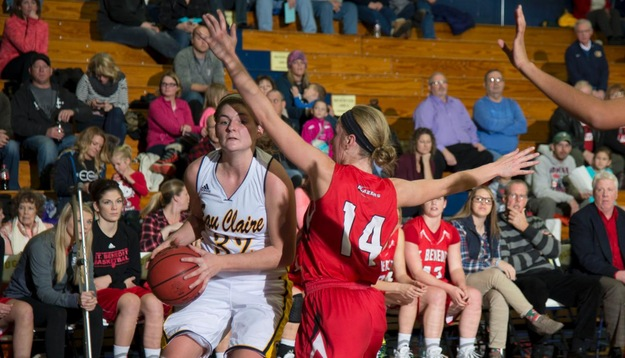 Women's Basketball edges Falcons, 44-41
