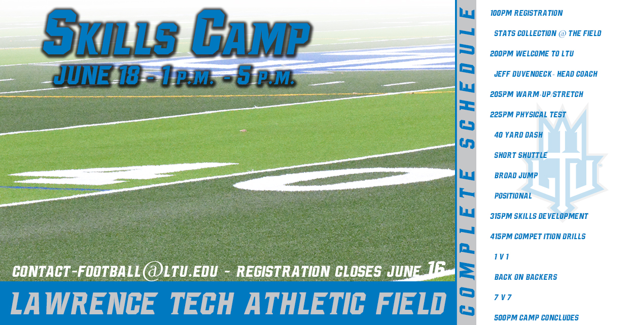 Photo for LTU Football Offering Skills Camp on June 18 at 1 p.m.
