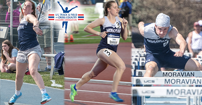 Mary Kate Duncan '18, Carly Danoski '20 and John Spirk '19 earn All-Academic honors from the United States Track & Field and Cross Country Coaches Association.