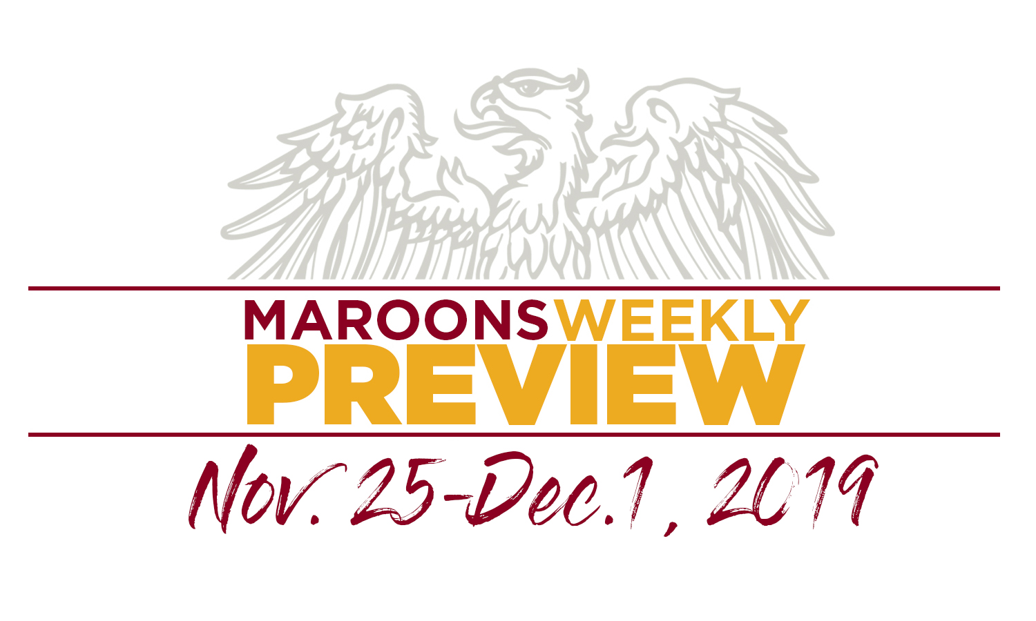 UChicago Athletics Preview: November 25 - December 1
