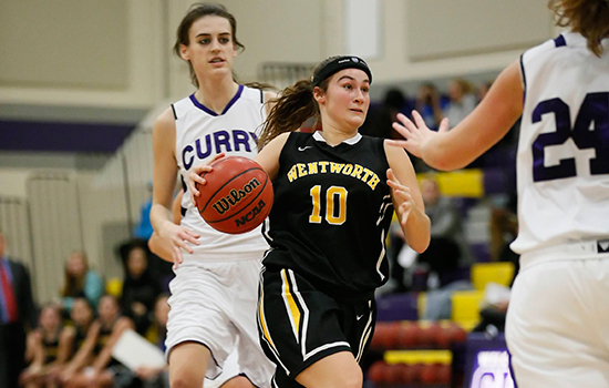 Suffolk Uses Second Half Surge to Defeat Women's Basketball