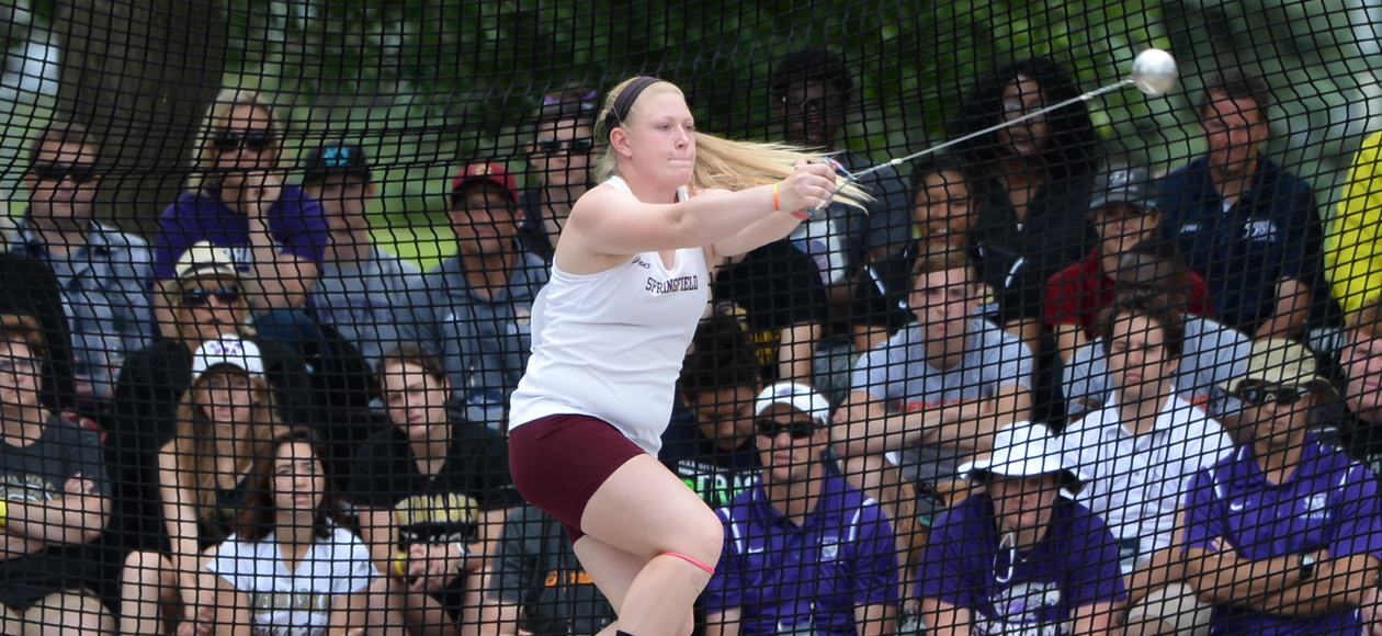 Markos Shatters School Record in Hammer Throw; Women's Track and Field Opens Outdoor Season at Smith Pioneer Invitational