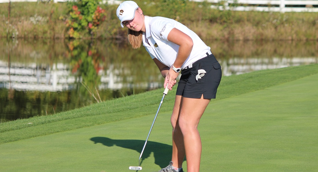 Three Top 15 Finishes Power Women's Golf To Fourth Place At Pat Clouse Invitational