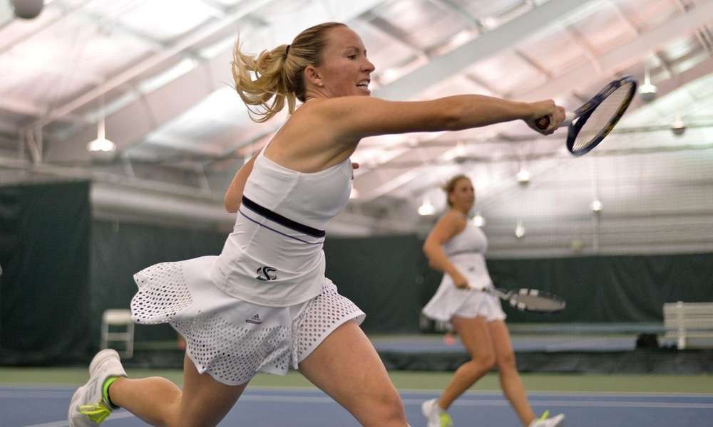 WOMEN'S TENNIS BEATS SOUTHERN UTAH 6-1, EDGED BY NORTHERN ARIZONA 4-3