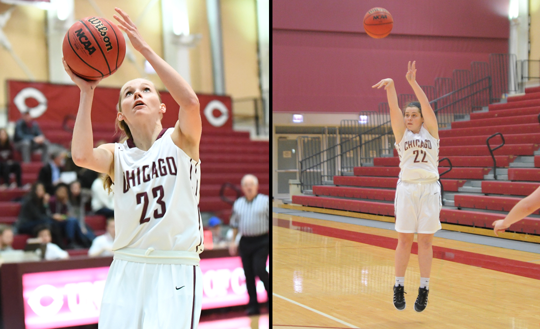UChicago women's basketball closes strong to upset Rochester 77-61